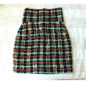 Chanel 2007 Colorful Fantasy Tweed Mini Skirt